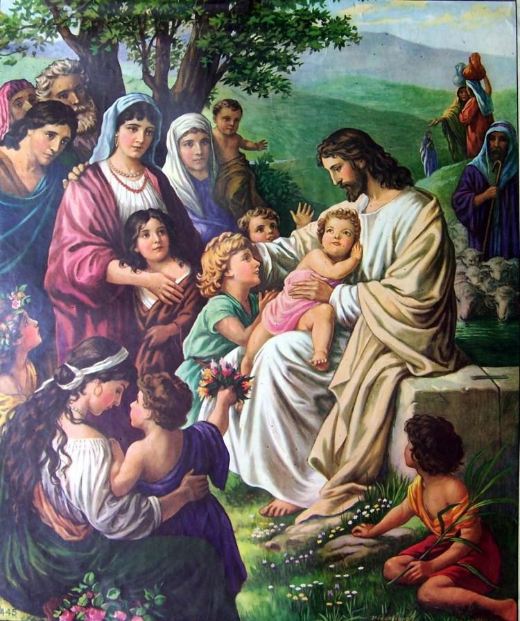 Jesus-painting-kids+children