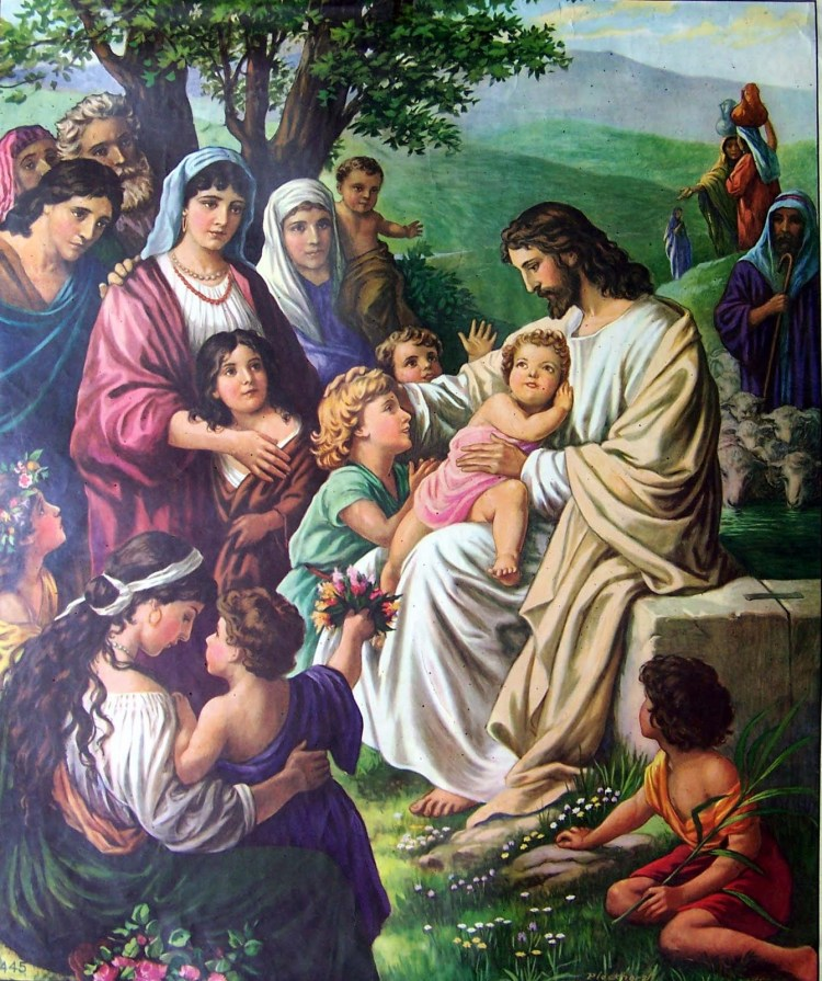 Jesus-painting-kids+children